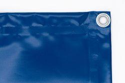 Bache 450g/m² bleu