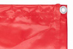 Bache 450g/m² rouge