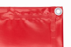 Bâche 680g/m² rouge