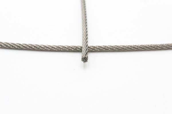 câble acier inox 7x7