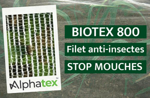 Filet anti-insectes stop mouche
