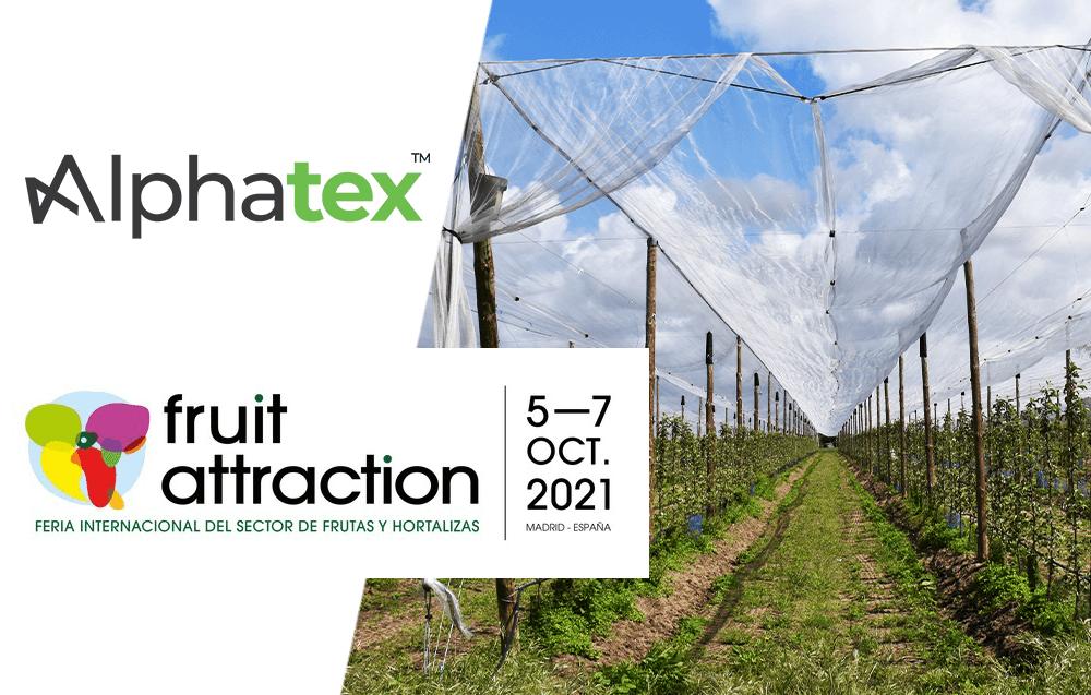 Alphatex sera présent au Fruit Attraction 2021