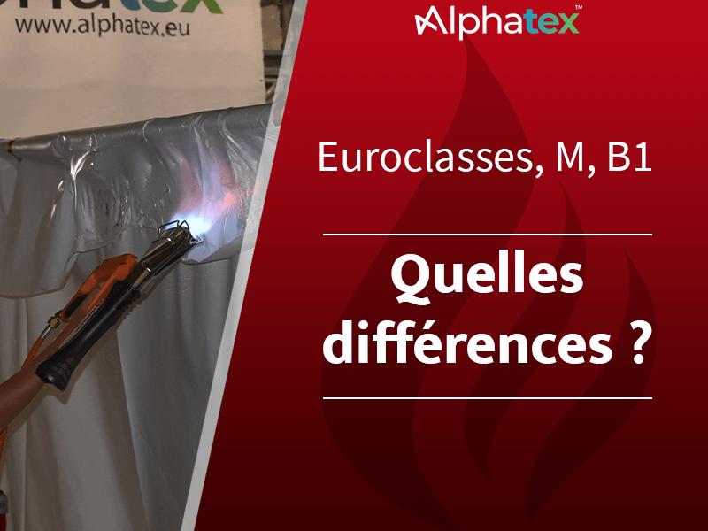 Classement M, Euroclasses, B1 de réaction au feu