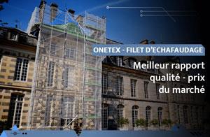 OneTex, le filet d'échafaudage avec le meilleur rapport qualité - prix
