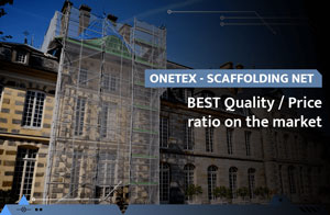 OneTex, scaffolding net with the best quality-price ratio